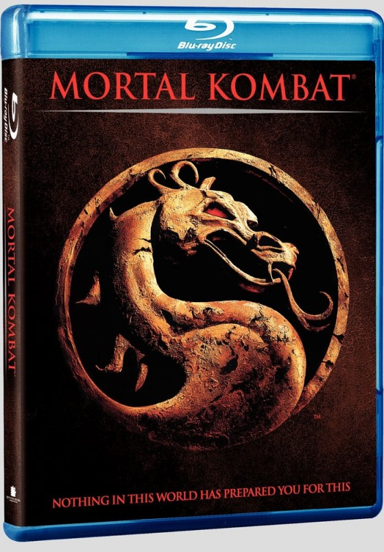 Mortal Kombat - Der Film - Blu Ray Cover