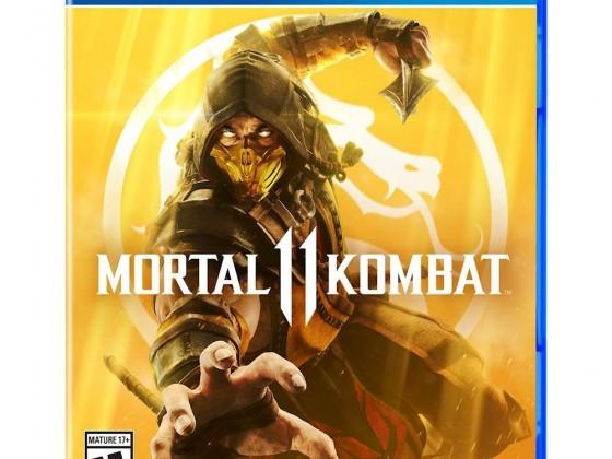 MK11 Cover PS4 NTSC