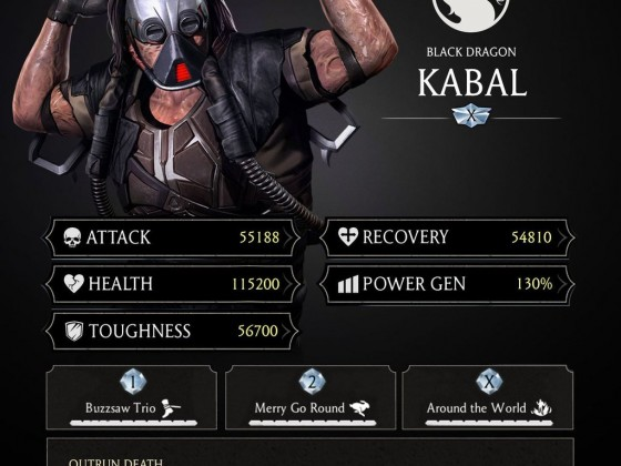 Kabal Stats