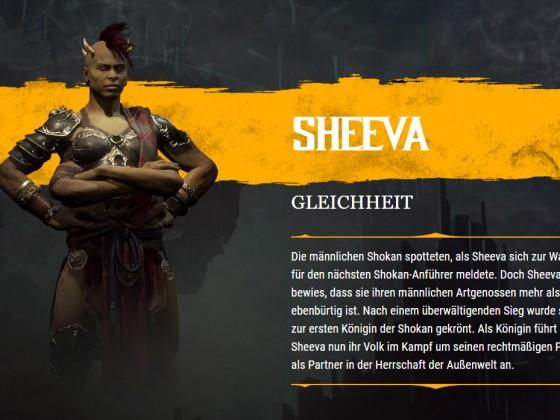 MK11 Bio Sheeva