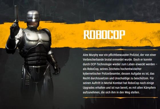 MK11 Bio RoboCop