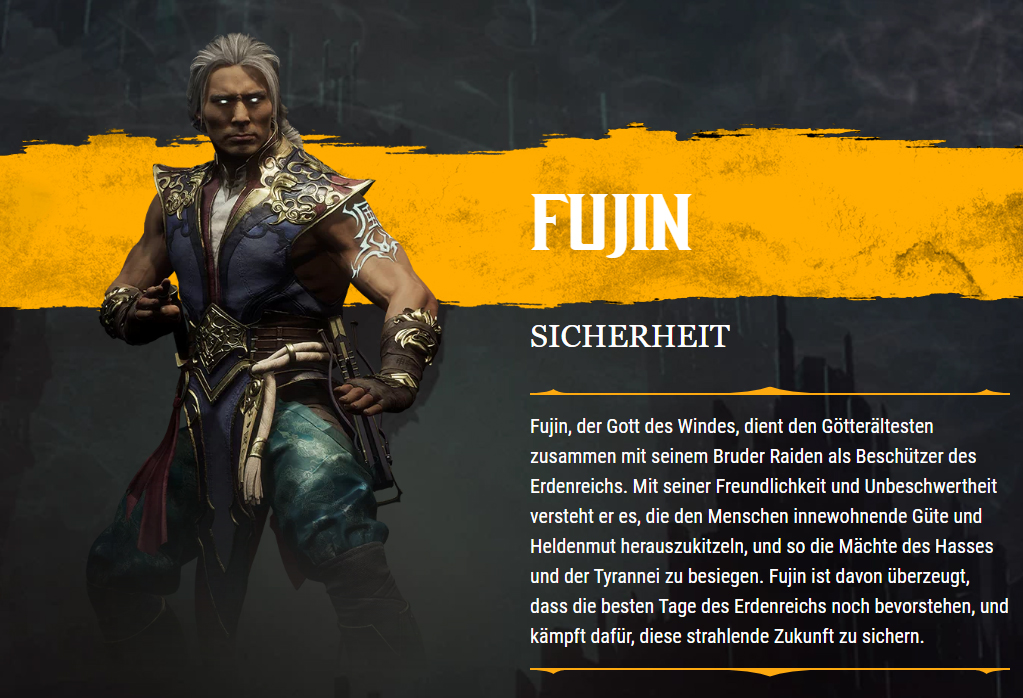 MK11 Bio Fujin