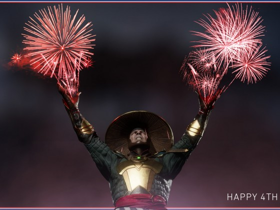 Happy 4th July Raiden