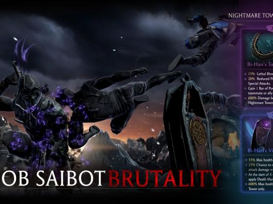 Noob Saibot Brutality
