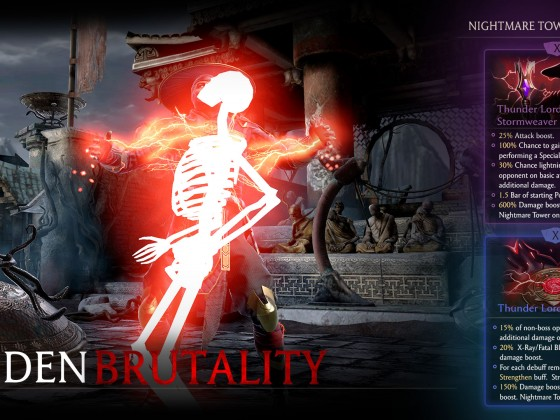 Raiden Brutality