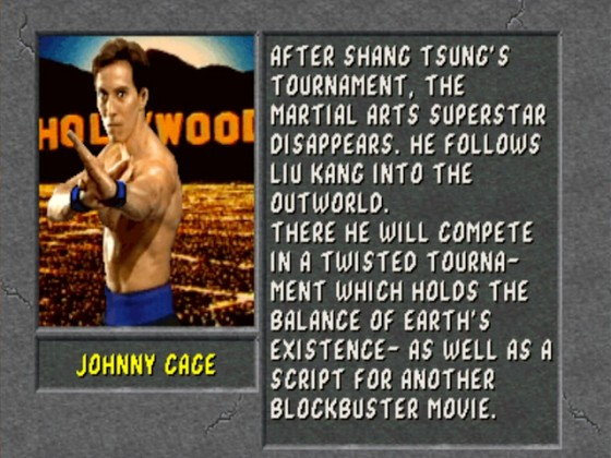 MK2 Biographie Johnny Cage