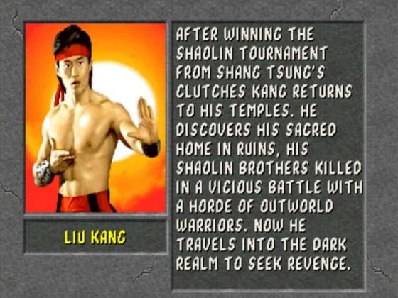 MK2 Biographie Liu Kang