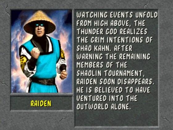 MK2 Biographie Raiden