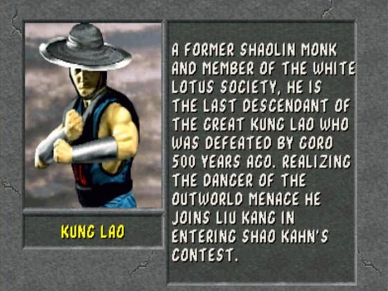 MK2 Biographie Kung Lao