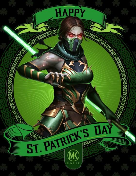 Jade St. Patricks Day