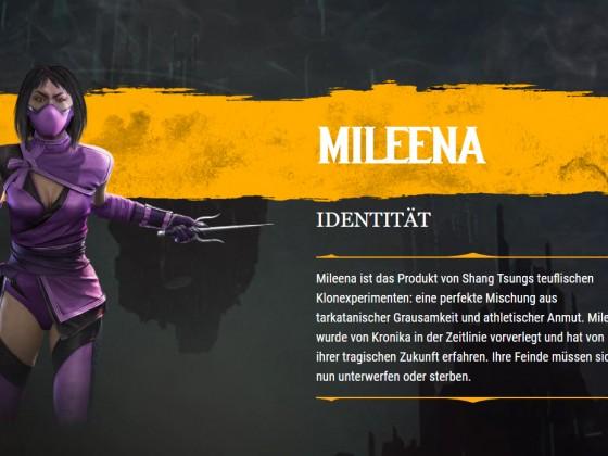 MK11 Mileena Biographie