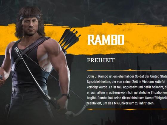 MK11 Rambo Biographie