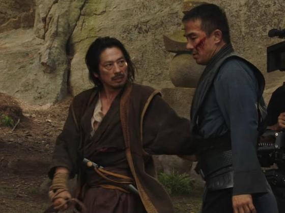 Scorpion - Hiroyuki Sanada / Bi Han - Joe Taslim