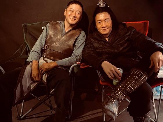 Tadanobu Asano und Chin Han