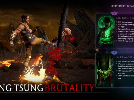 Shang Tsung Brutality