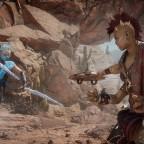 MK11 Aftermath Screenshot Frost vs Sheeva
