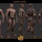 MK11 Shao Kahn Konzept