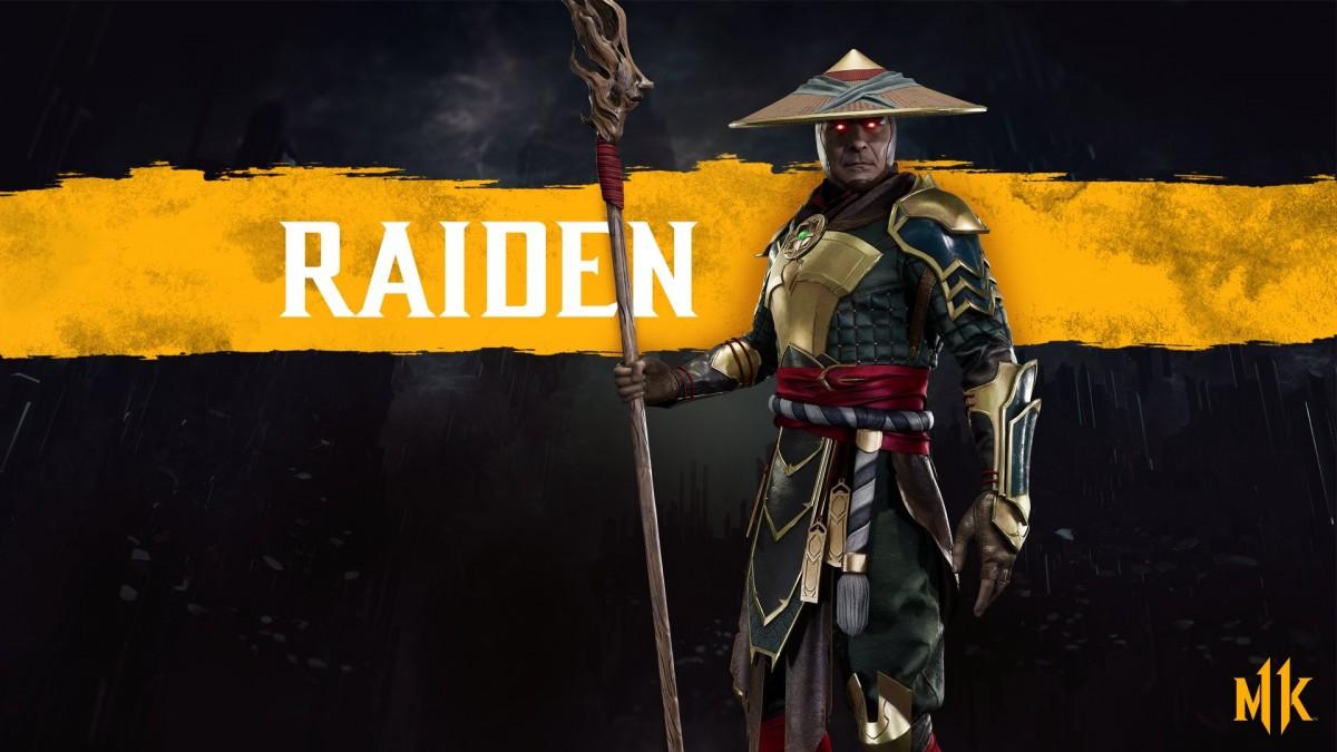 MK11 - Render Raiden