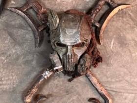 Kabal Maske & Schwerter