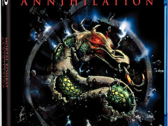 Mortal Kombat - Annhilation Blu Ray Cover