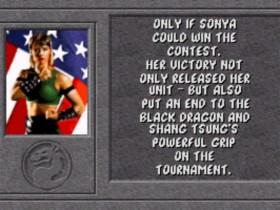Sonya Ending 2