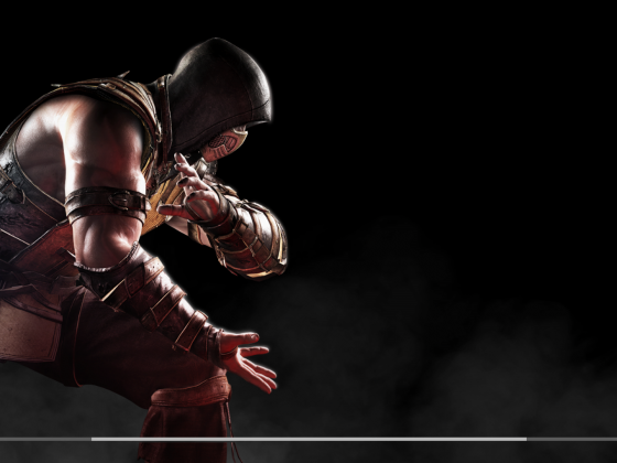 MKX Scorpion Loadingscreen Scorpion