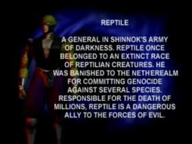 MK4 Biographie Reptile