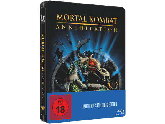 Mortal Kombat - Annihilation Blu Ray Cover Steelbook Edition