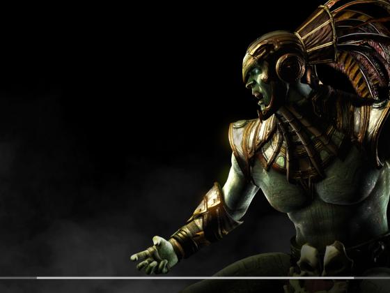 Mortal Kombat X Loadingscreen Kotal Kahn
