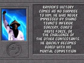 Rayden Ending 1