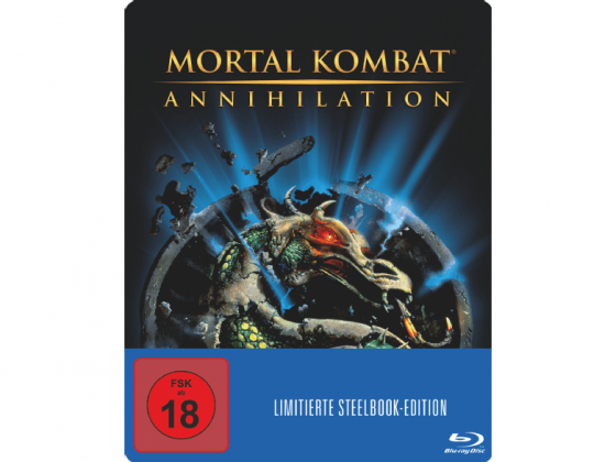 Mortal Kombat - Annhilation Blu Ray Cover Steelbook Edition