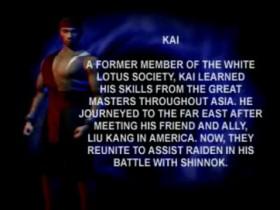 MK4 Biographie Kai