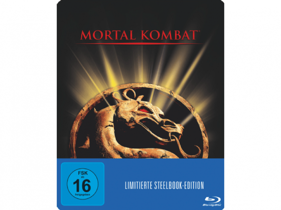 Mortal Kombat - Der Film - Blu Ray Cover Steelbook Edition