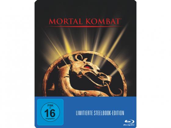 Mortal Kombat - Der Film - Blu Ray Cover Steelbook Edition