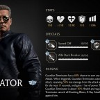Terminator Stats