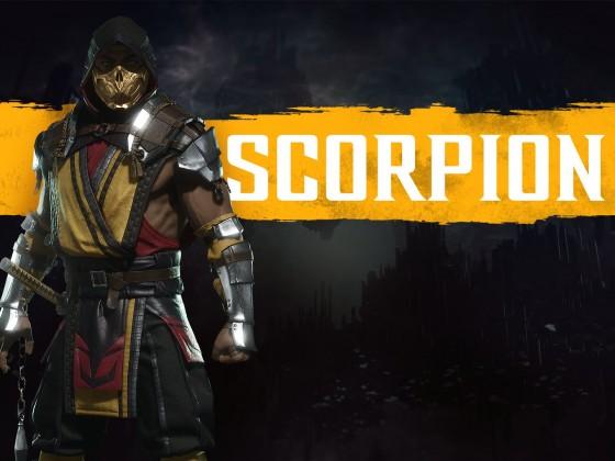 MK11 - Render Scorpion
