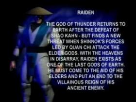 MK4 Biographie Raiden