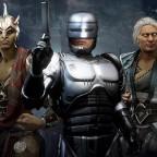 MK11 Aftermath - New Fighters Sheeva Fujin Robocop