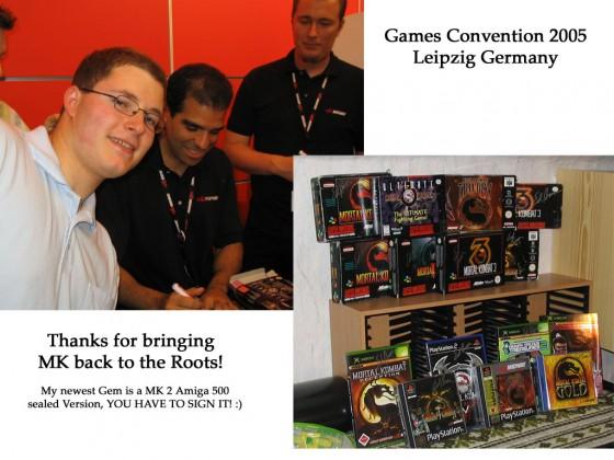 Mortal Kombat Sammlung (MK2 Amiga 500 Version Sealed fehlt auf dem Foto!)