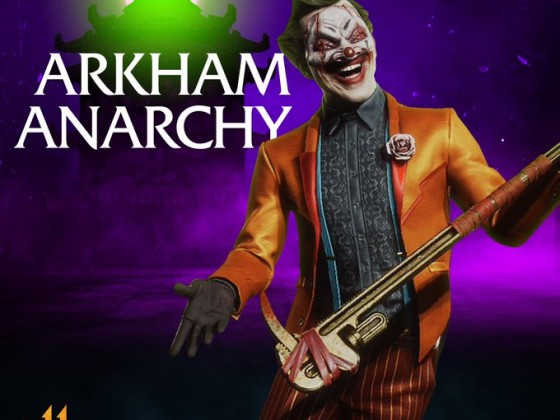 Arkham Anarchy Tower - Joker