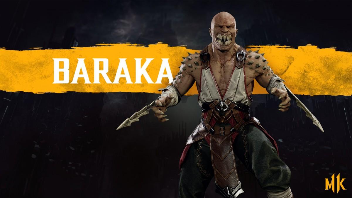 MK11 - Render Baraka